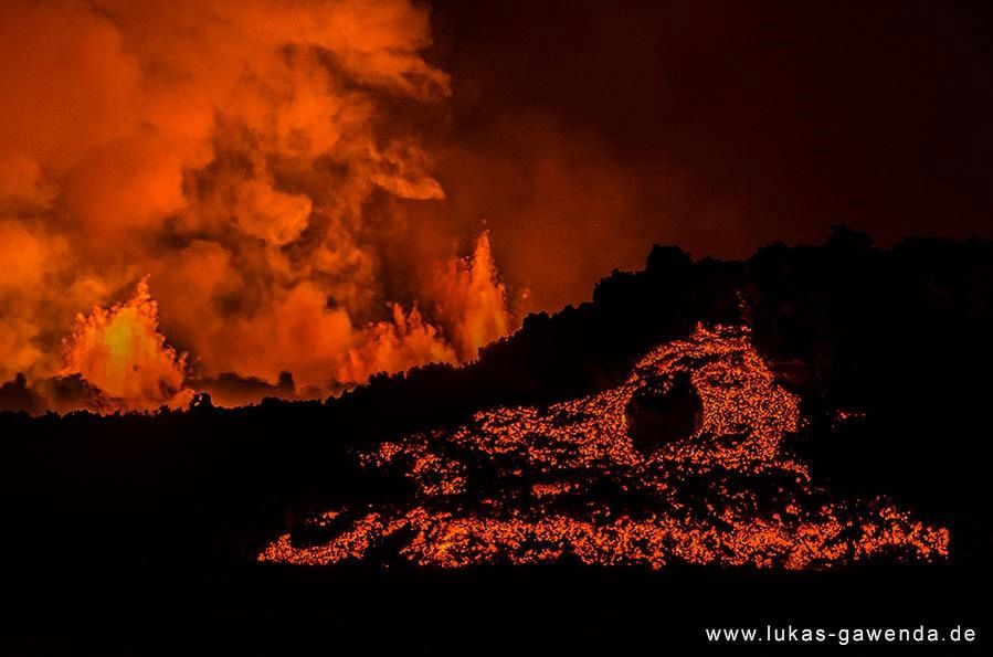 Eruption of Holuhraun - photo lukas-gawenda.de / pic.twitter.com-WairVbpIki / 12.09.2014