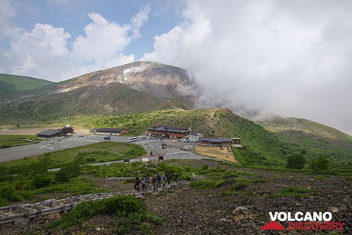 Beautiful pictures of Azuma group on the site VolcanoDiscovery - courtesy of Tom Pfeiffer. - http://www.volcanodiscovery.com/azuma-images.html
