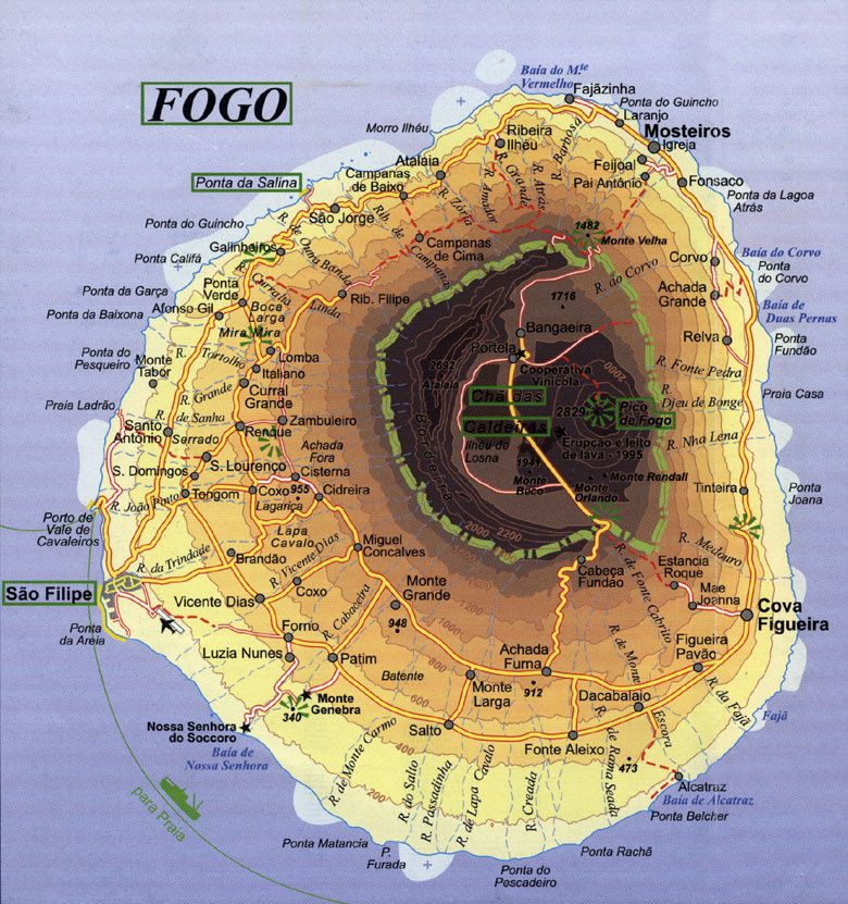Fogo : eruption seems to calm down!