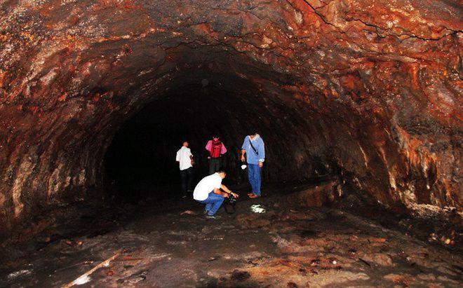Vietnam - tunnel de lave dans la province de Dak Nông - photo Tuoi Tre