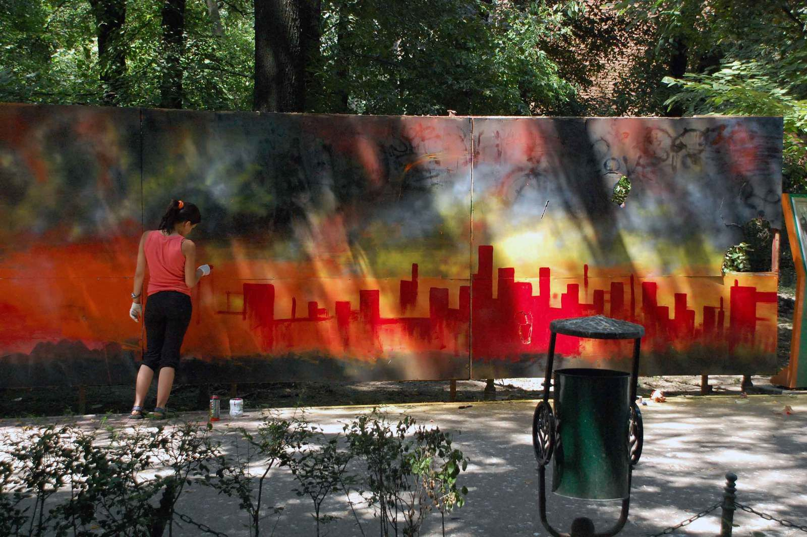 """ Volcano getting mad"" par Gina Ster & Dark"