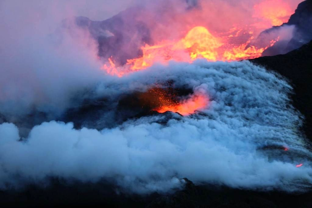 Holuhraun  - photo University of Iceland 10.01.2015