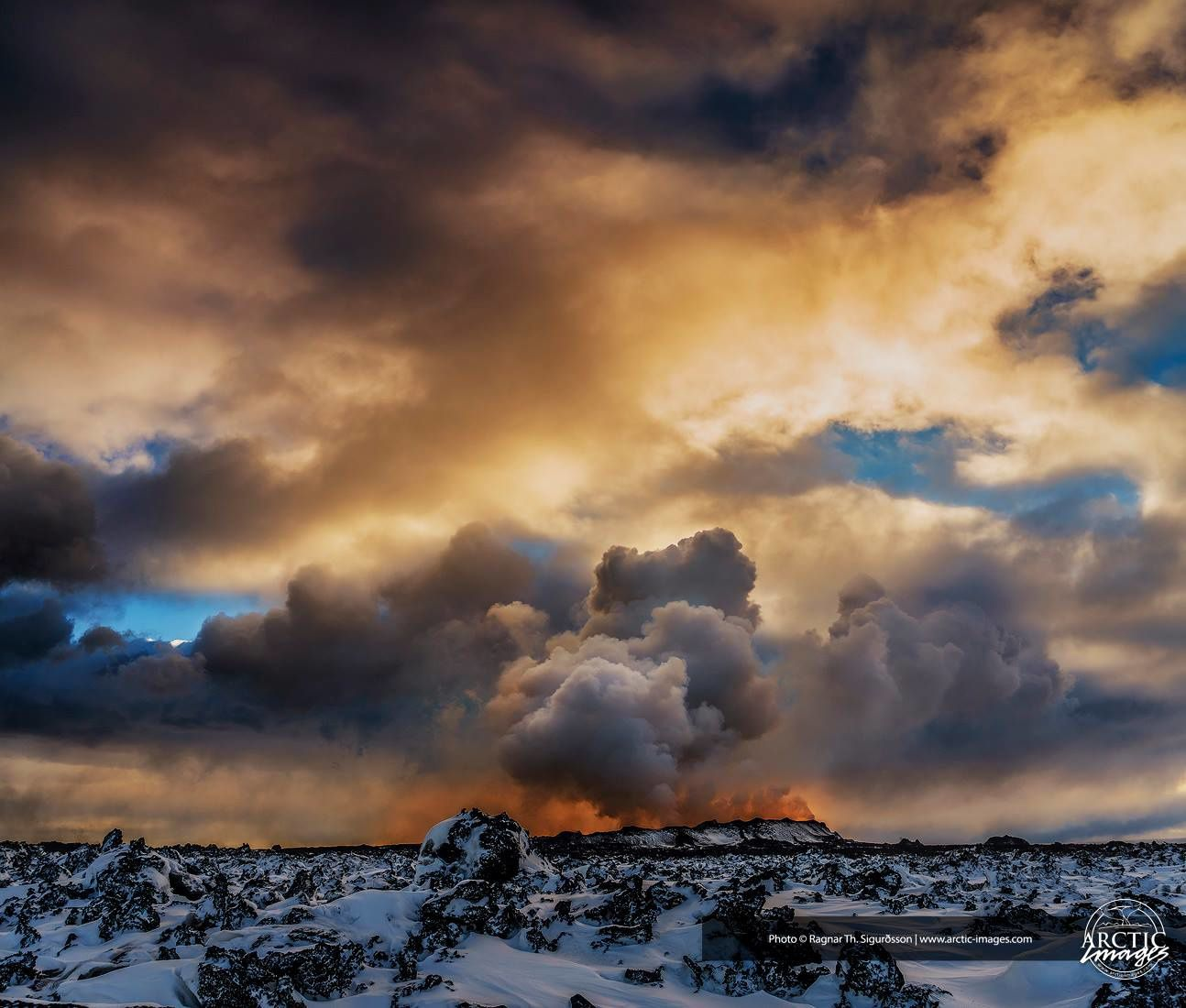 Holuhraun on 03/02/2015 - photo R.Sigurdsson - Artic pictures