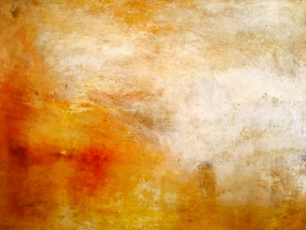 """Sunset"" - by W.Turner (1840)"