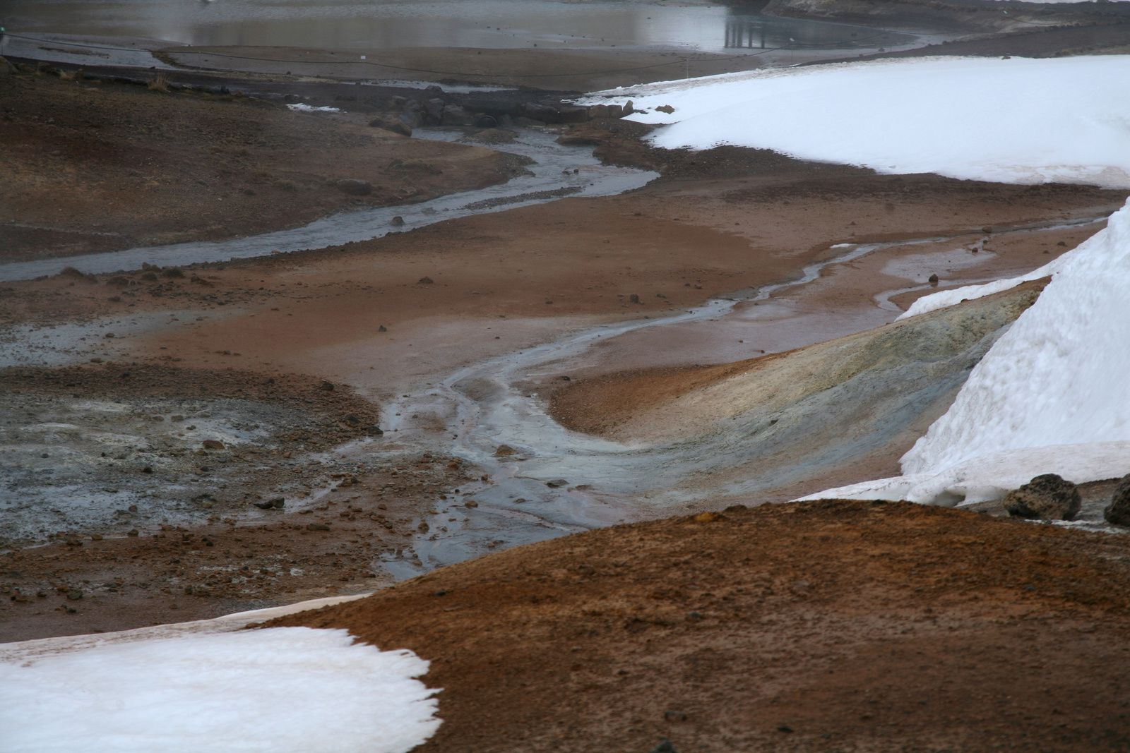 Le champ géothermal de Krísuvík-Seltún - photo © Bernard Duyck 2015