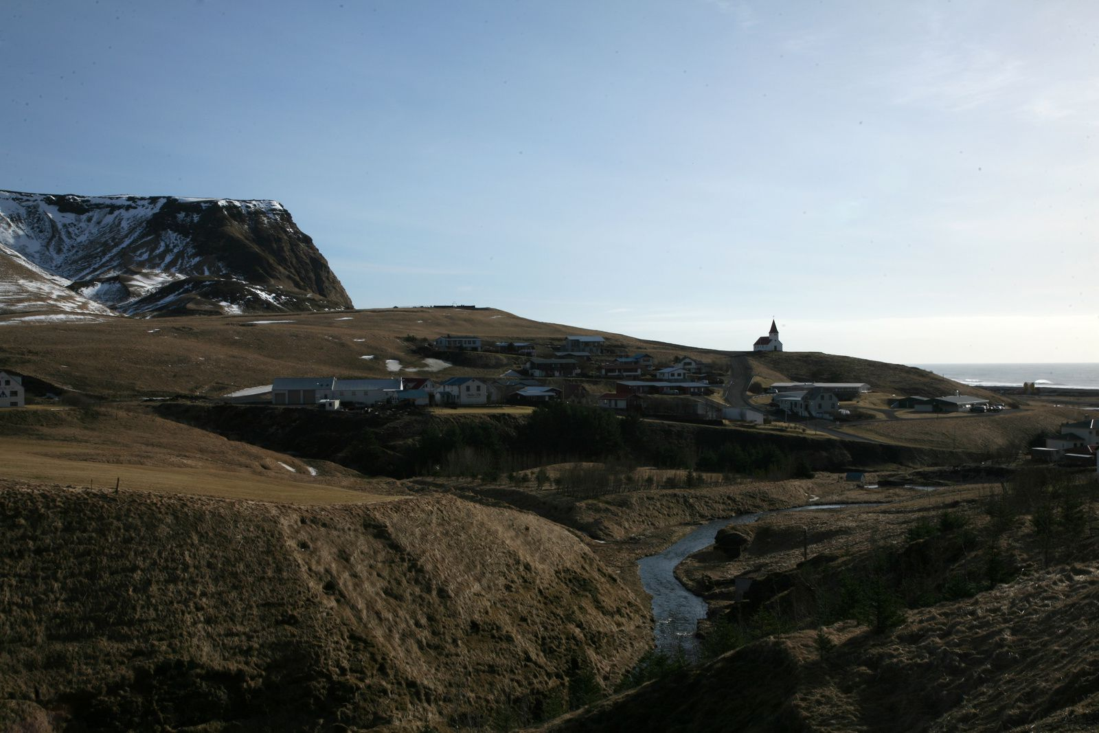 Vík í Mýrdal, ou plus communément Vik - photo © Bernard Duyck 2015