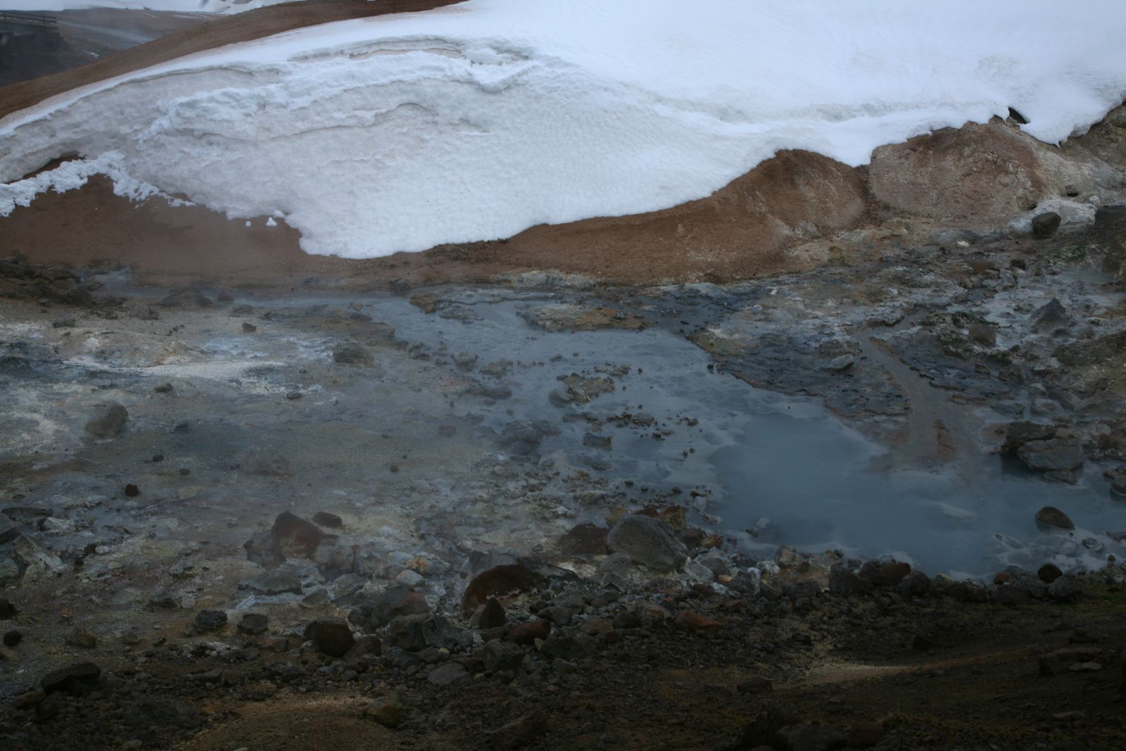 The geothermal field Krísuvík-Seltun - photo © 2015 Bernard Duyck