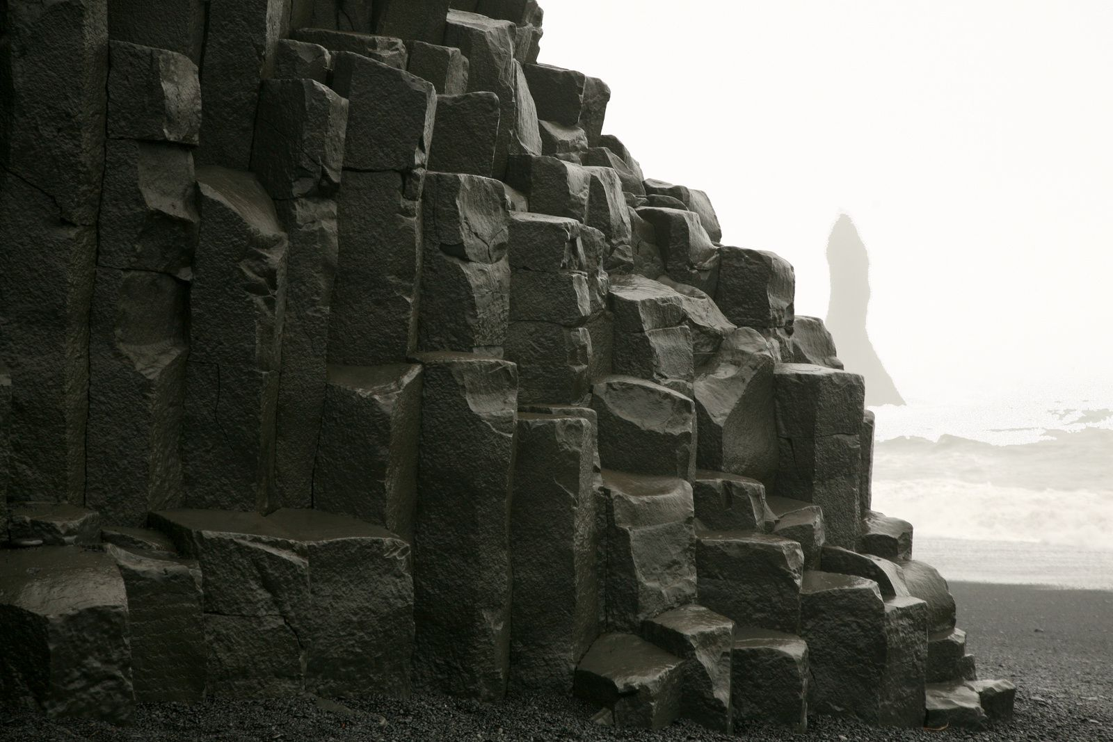 The organs of Reynisfjara - photo © 2015 Bernard Duyck