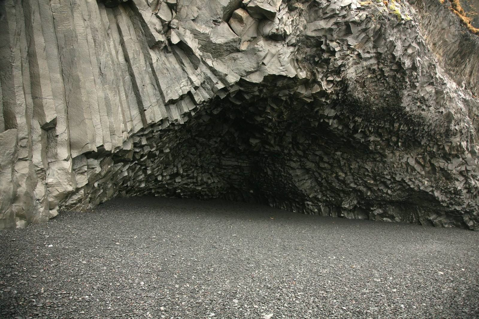 Hálsanefshellir - a cave covered with basalt organs - photo © 2015 Bernard Duyck