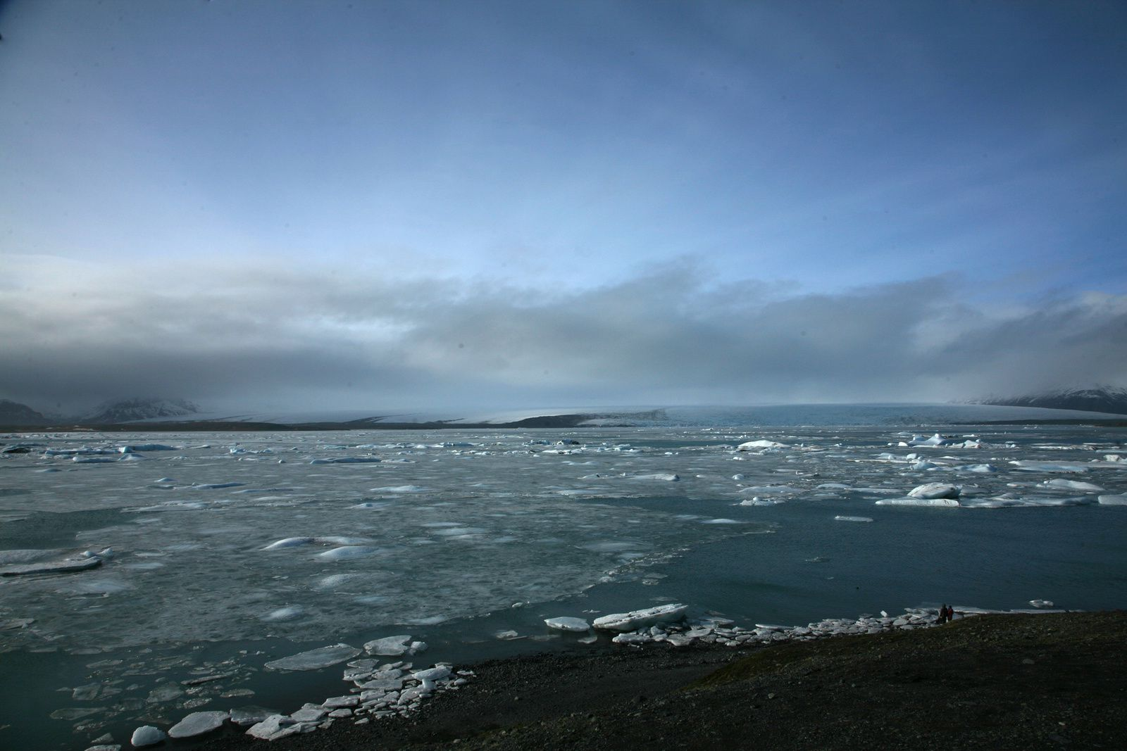 Jökulsárlón - general view of the lagoon - photo © 2015 Bernard Duyck