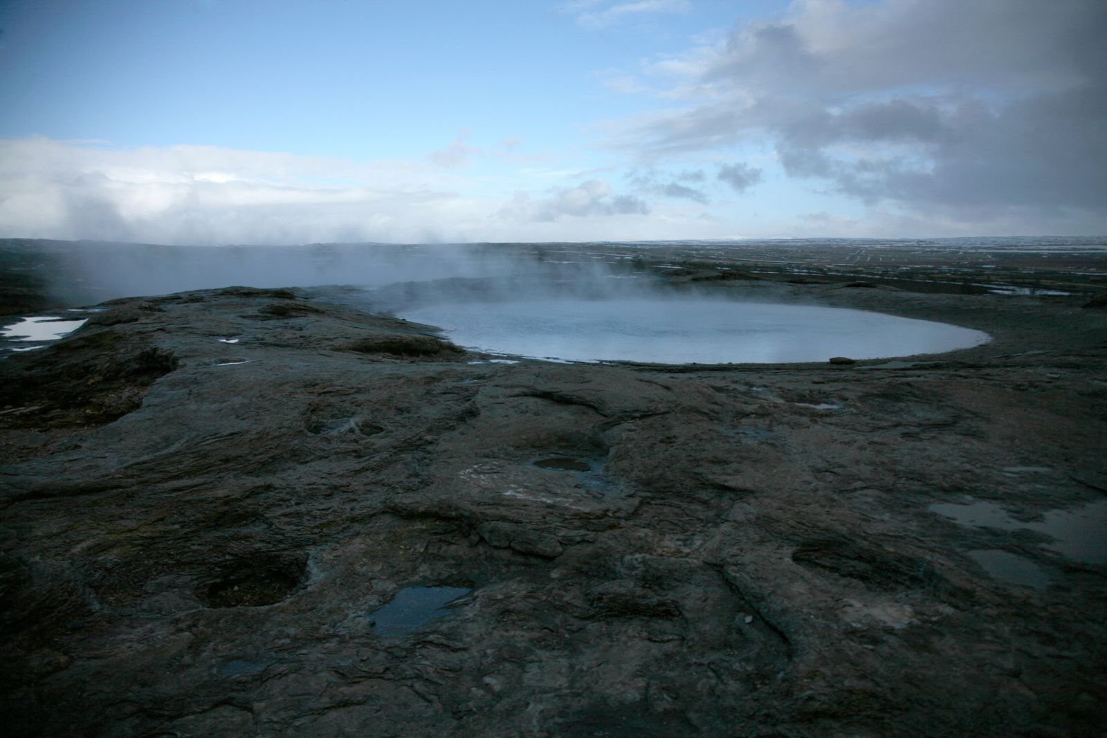 The Geysir geothermal field - Konugshver - photo © 2015 Bernard Duyck