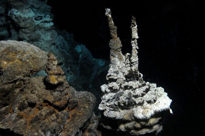 Marine deep environment of Loki's Castle, a geothermal vent on the Mid-Atlantic - Credit RB-Pedersen Centre for Geobiology, University of Bergen
