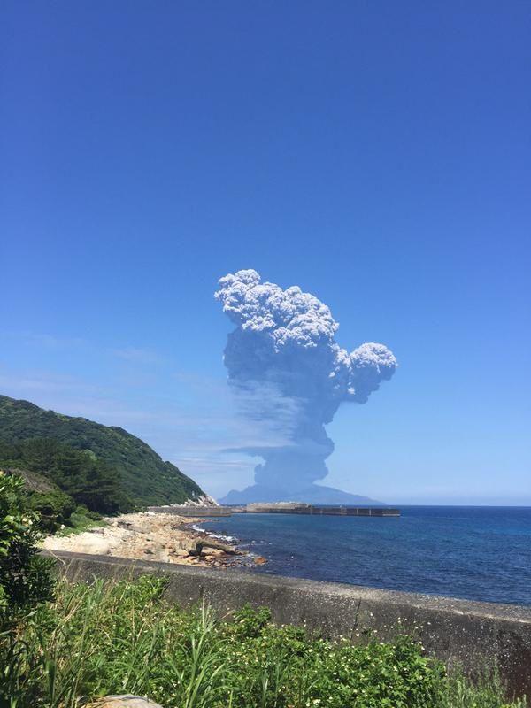 Kuchinoerabu - 29.05.2015 - photo Oh!kawa@カムバックパラダイス / Twitter