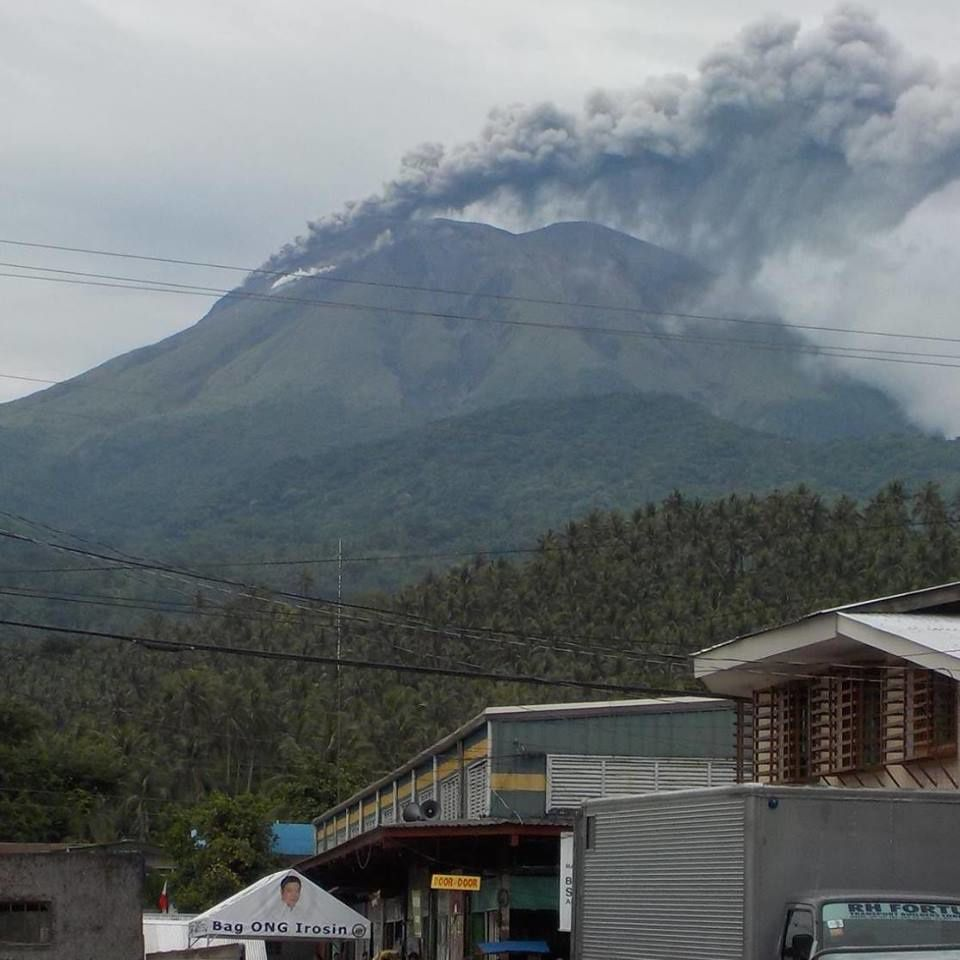 Bulusan  le 21.06.2015  - photo Benedict Del Valle Ocampo /via Facebook