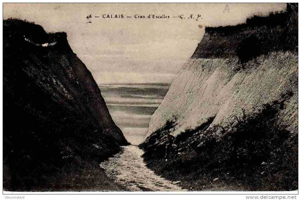 The Cran d'Escalles in 1910 - Postcard Delcampe archives