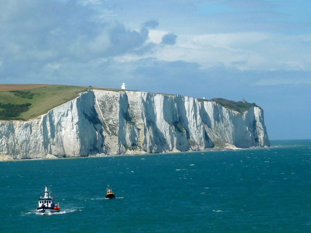 Les falaises de craie de Douvres / White cliffs of Dover - photo Immanuel Giel