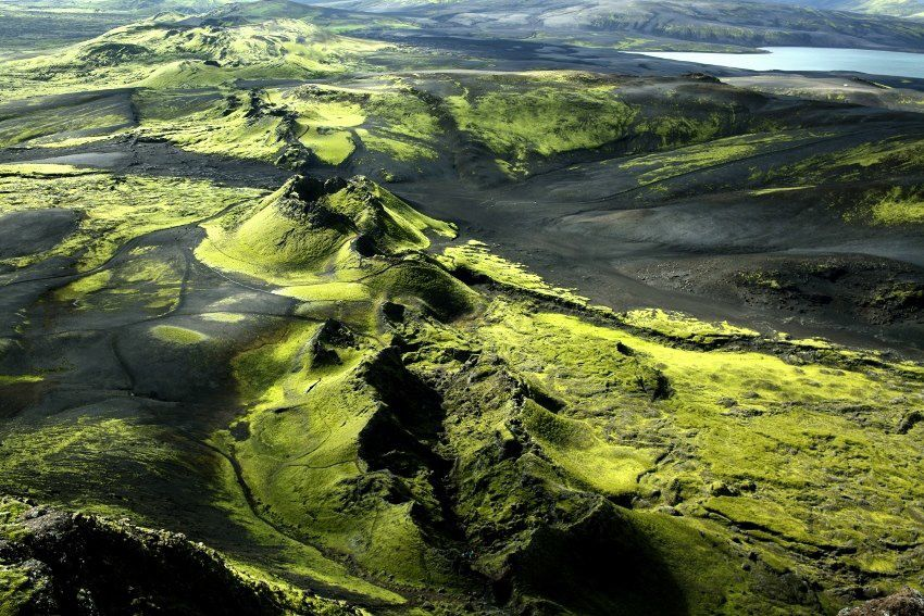 Iceland - the eruptive fissure of Laki - photo David Huguet