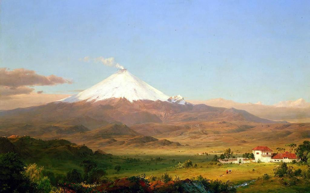 Frederic Edwin Church , Cotopaxi - Oil on canvas -  1855 - Smithsonian American Art Museum