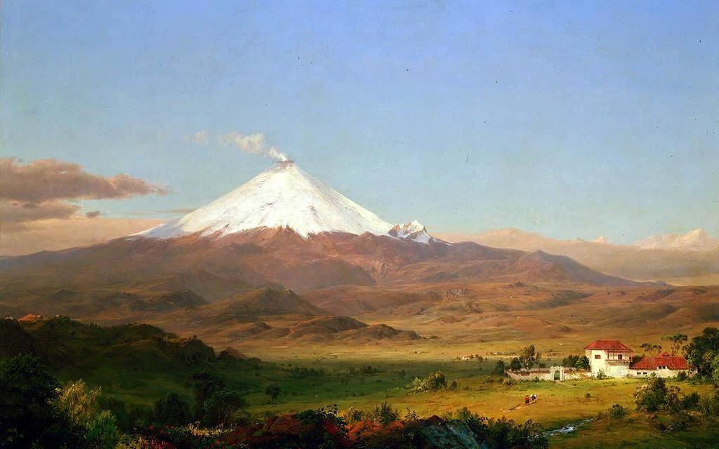 Frederic Edwin Church, Cotopaxi - Oil on canvas - 1855 - Smithsonian American Art Museum