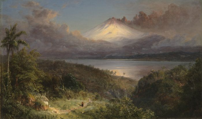 Frederic Edwin Church - Oil on canvas, 11 x 18 inches - 1867 - Yale University New Haven