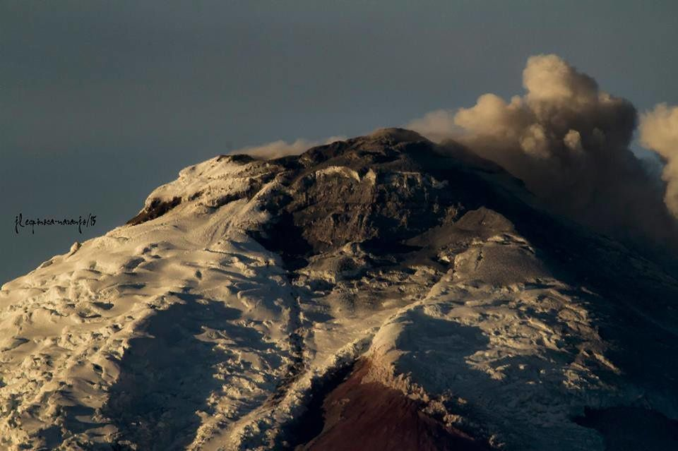 Cotopaxi, September 12, 2015 - photo-Espinosa Jose Luis Naranjo.