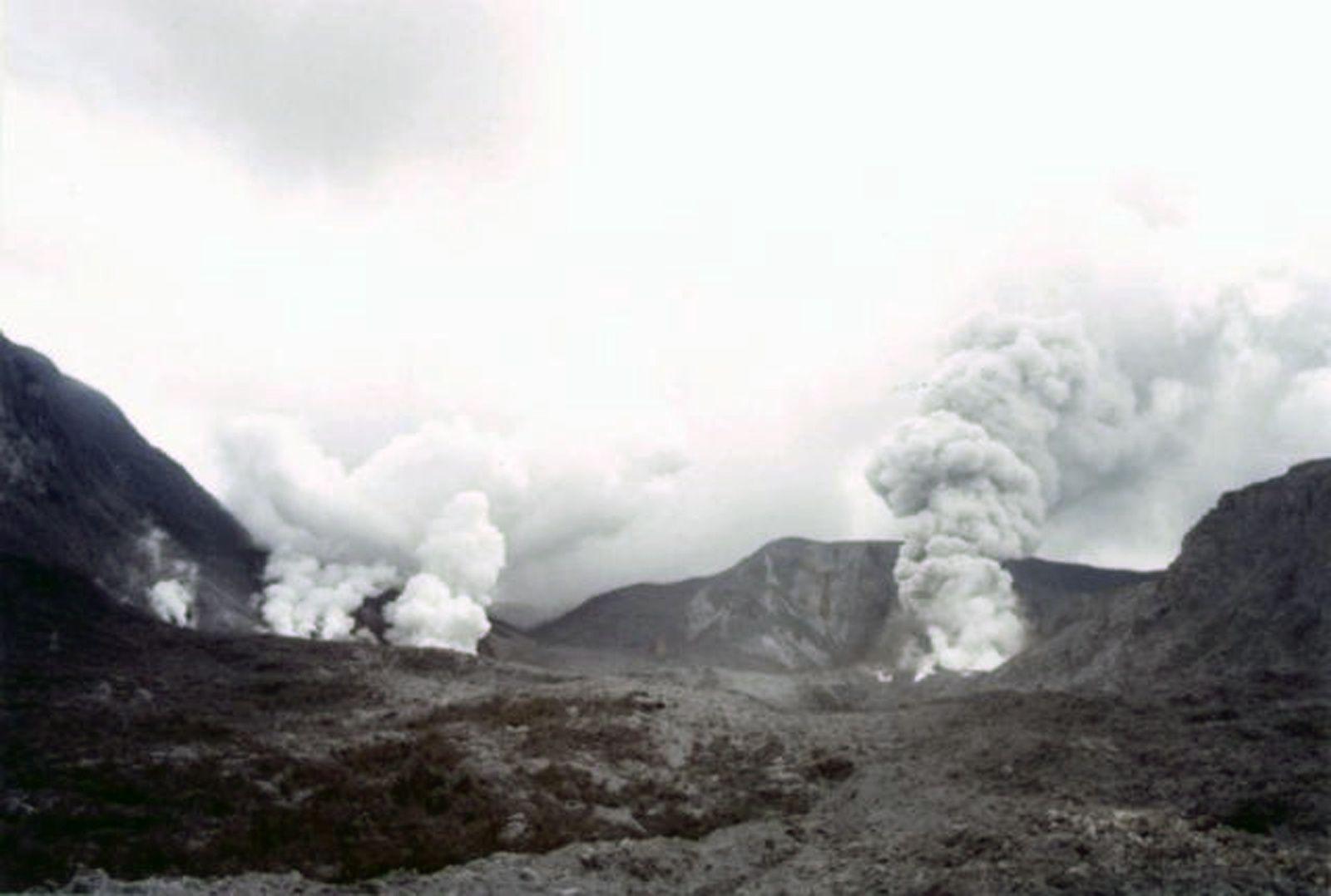 West Java -  Papandayan part 2