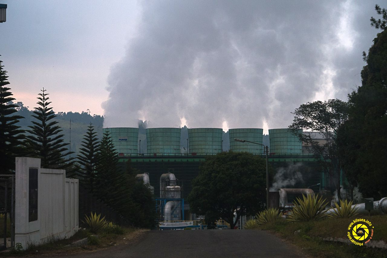 Kawah Kamojang - a geothermal unit - photo © Jean-Michel Mestdagh 2015
