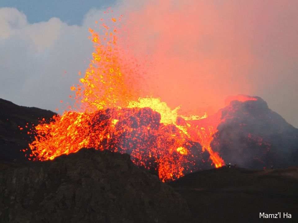 La Fournaise - Piton Kala et Pélé - photo 2015.10.17 / Mamz'l Ha / Fournaise-info
