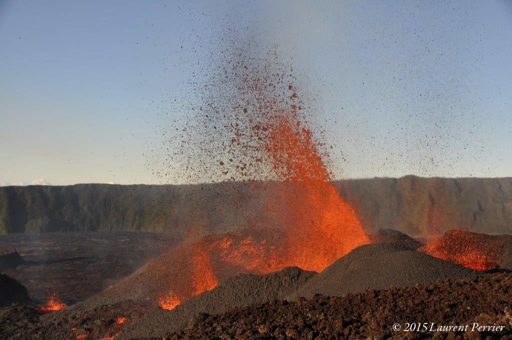 La Fournaise - Le piton Kei Aki - photo 2015.05 / Laurent Perrier via Actus Météo 974