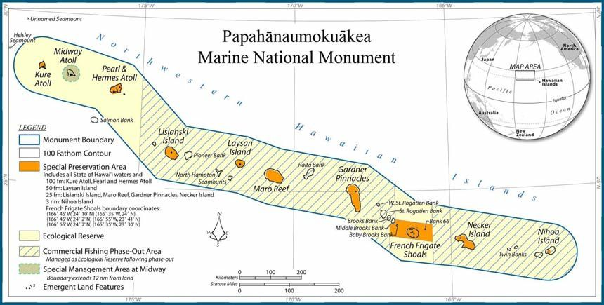 Papananaumokuakea Nat.Monument card.