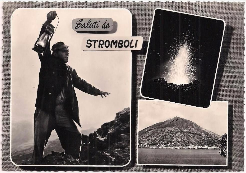 Salvatore di Losa, the first guide of Stromboli - Philippe Bernard's photo archive / volcan-stromboli.skyrock.com