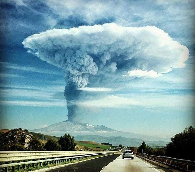 Etna 04/12/2015 - photo MeteoWeb