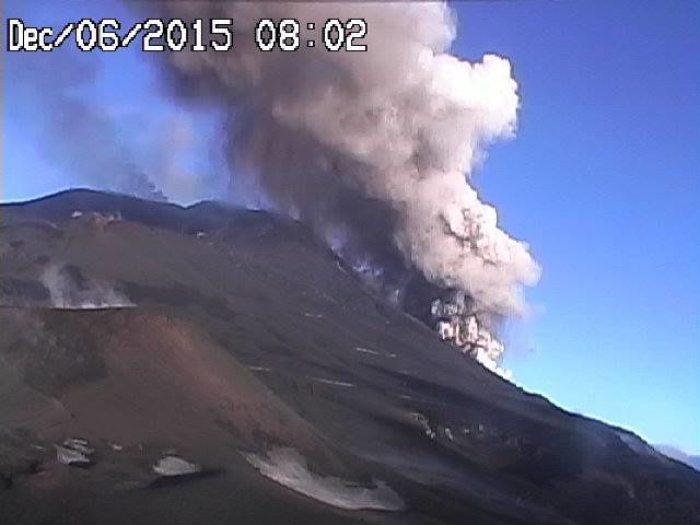 Etna 06.12.2015 / 08h02 - photo webcam Radio Studio 7