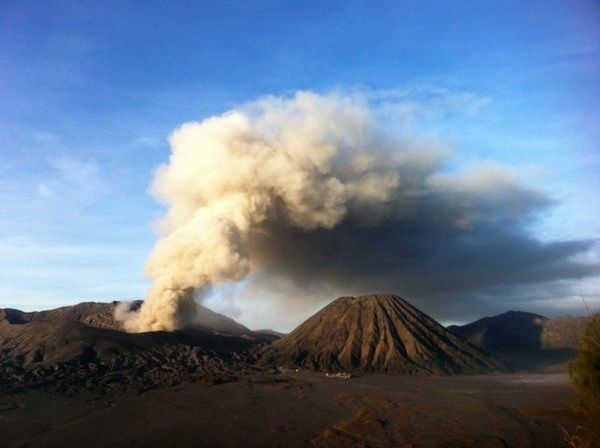 Bromo  - 07.12.2015 - photo PVMBG