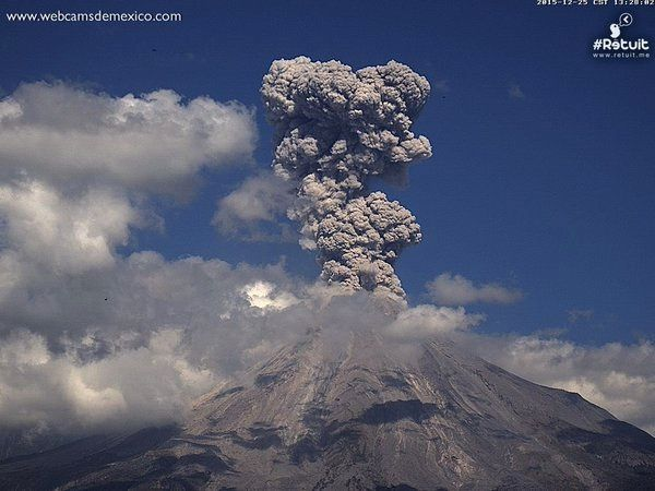 Colima on 2015.12.25 / 1:28 p.m. - photo webcam Mexico