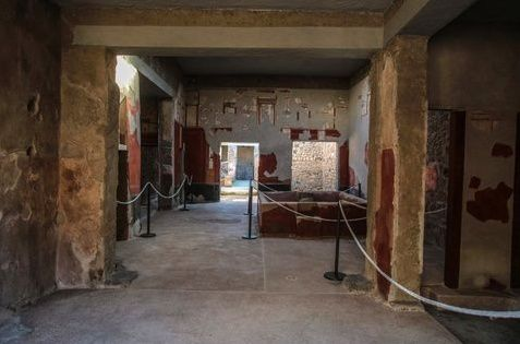 Pompeii - the Fullonica of Stephanus - photo il Mattino