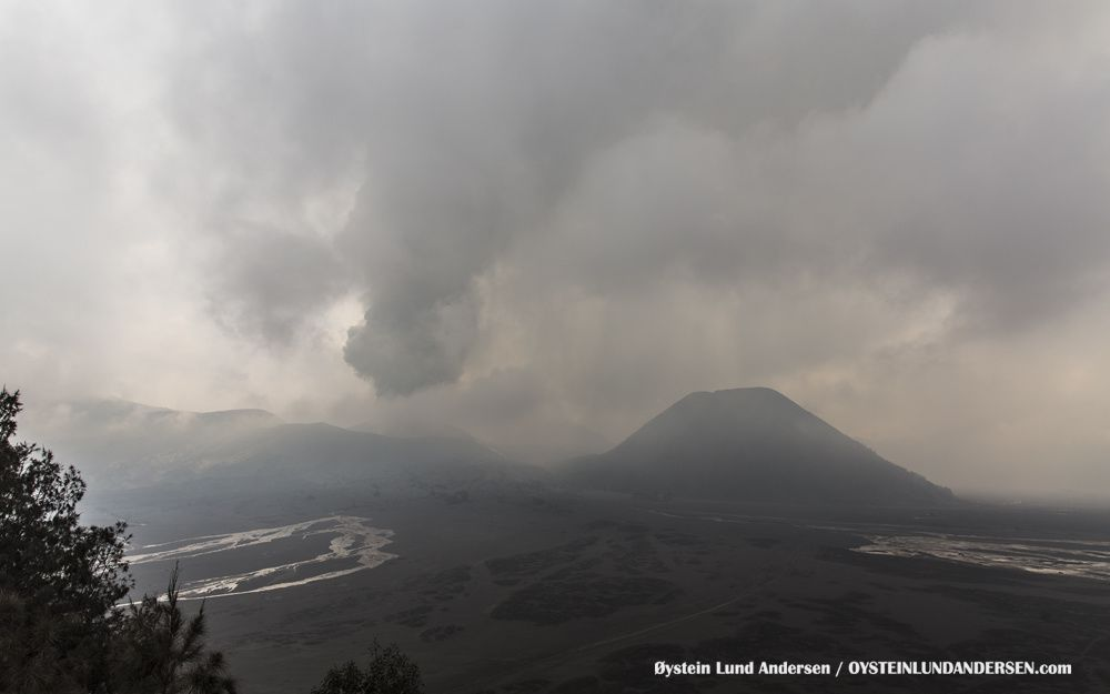 Lahar from Bromo in the Tengger Caldera - photo Øystein Lund Andersen - 01.03.2016 / 2:34 p.m.
