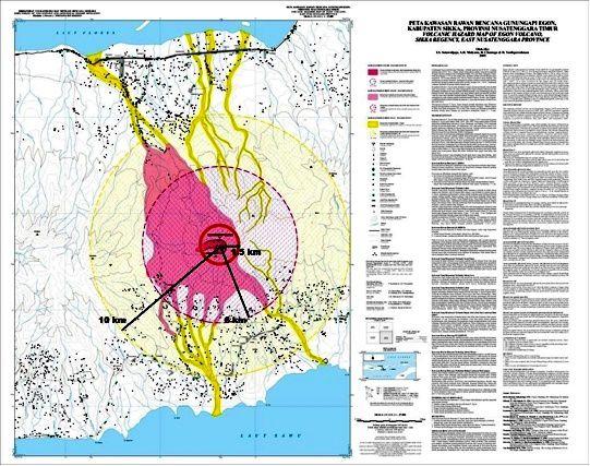 Egon carte des zones à risques - doc. VSI