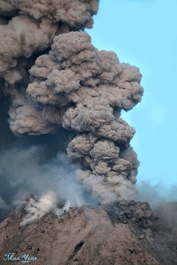 Sinabung - le 14.01.2016 / 06h39 - photo Maz Yons