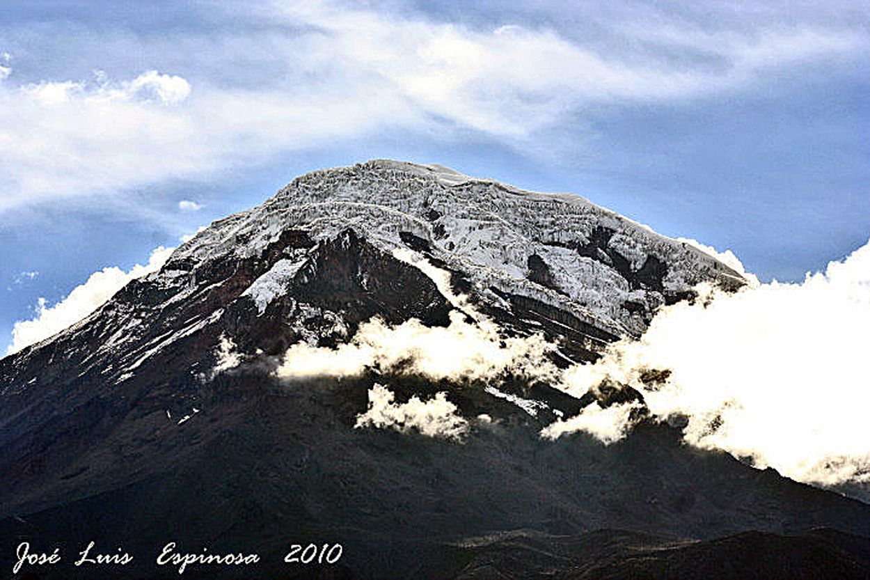 Chimborazo in 2010 - photo-Espinosa Jose Luis Naranjo