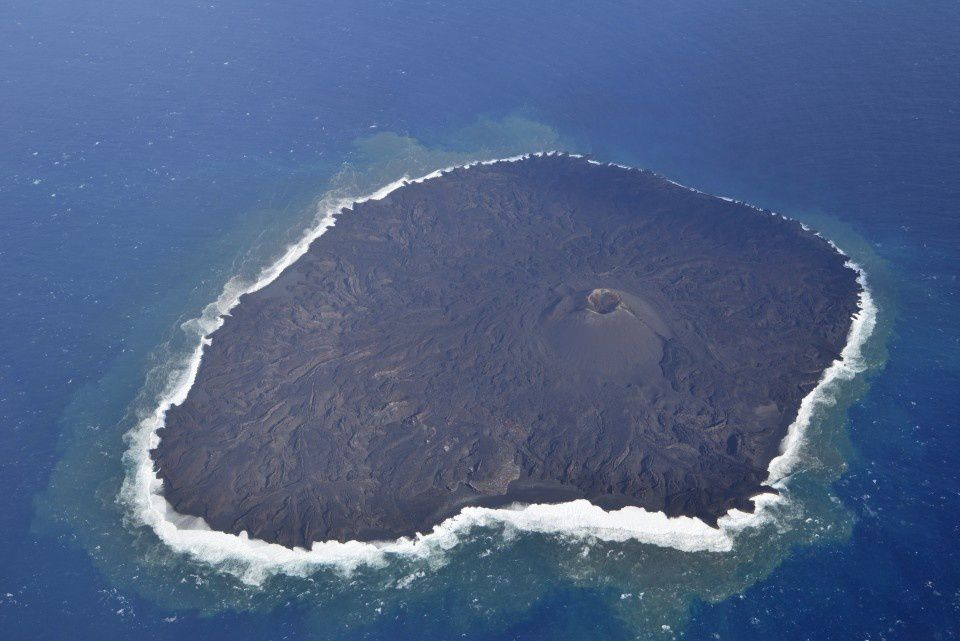 Nishinoshima - photo JCG 19.01.2016