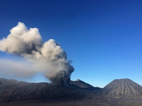 Bromo - 15.02.2016 /  6h38 - photo Radio Star Jogja