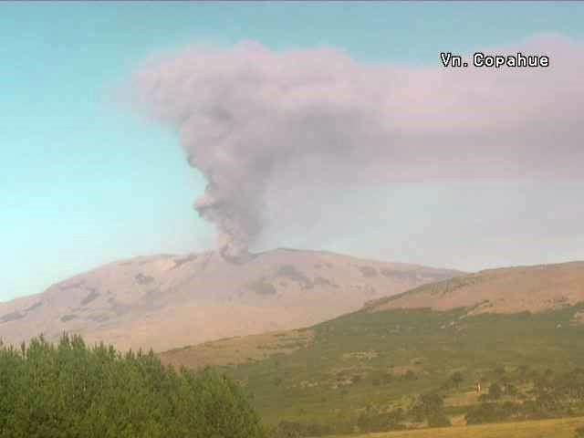 Copahue - 02/15/2016 - webcam Red de emergencia