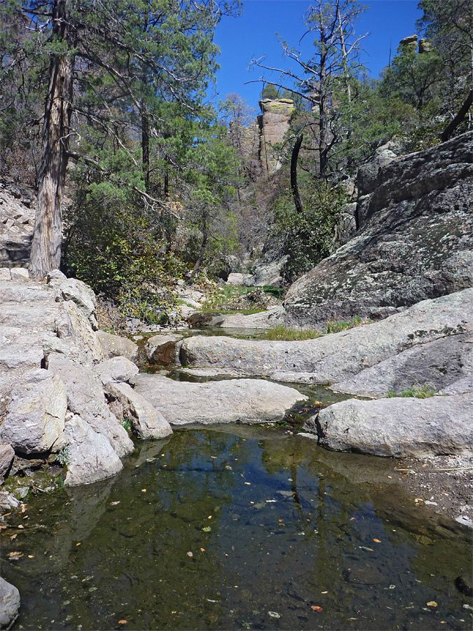 Chiricahua National Monument - Pools dans Echo Canyon - photo American Southwest