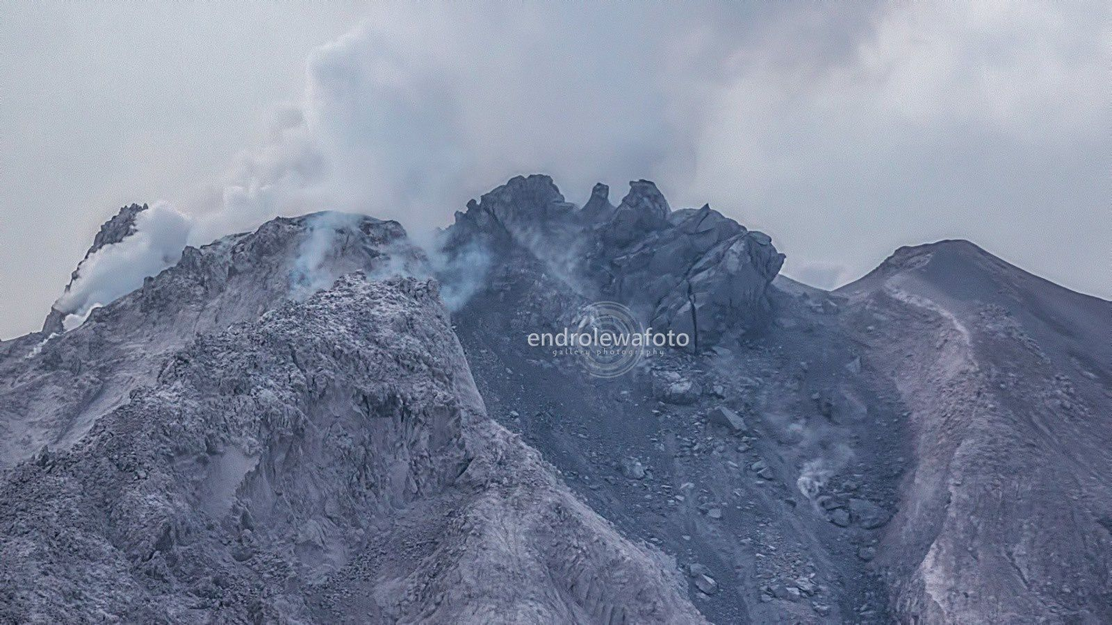 Sinabung depuis Payaung - 29.03.2016 / 17h19 - photo Endrolewa