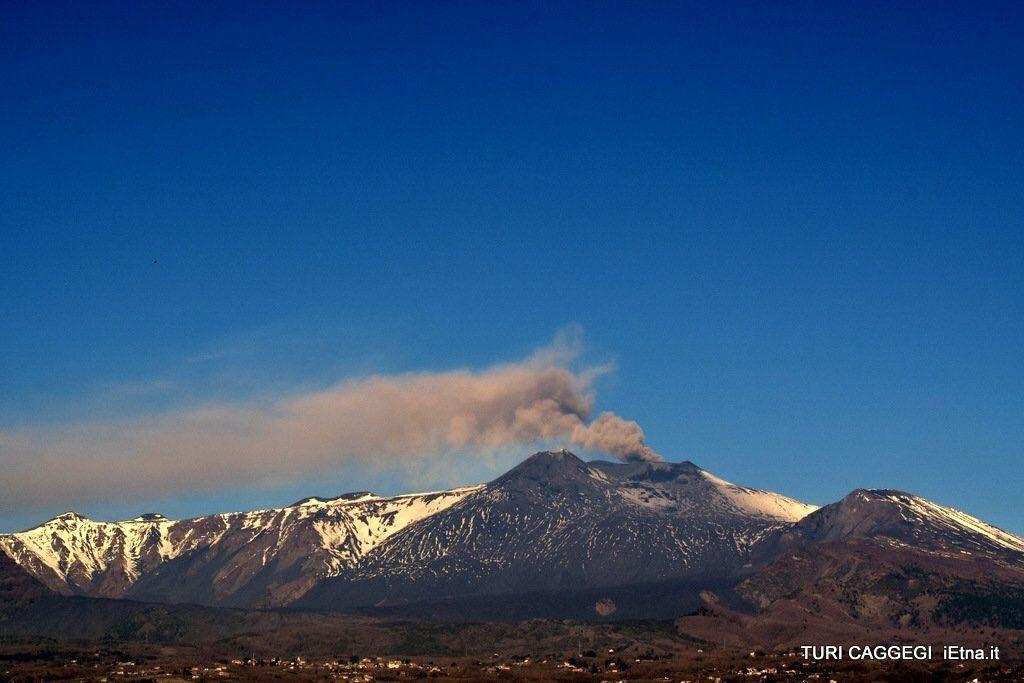 Activity of Popocatépetl, Nevado del Ruiz, Tiscani and Etna.