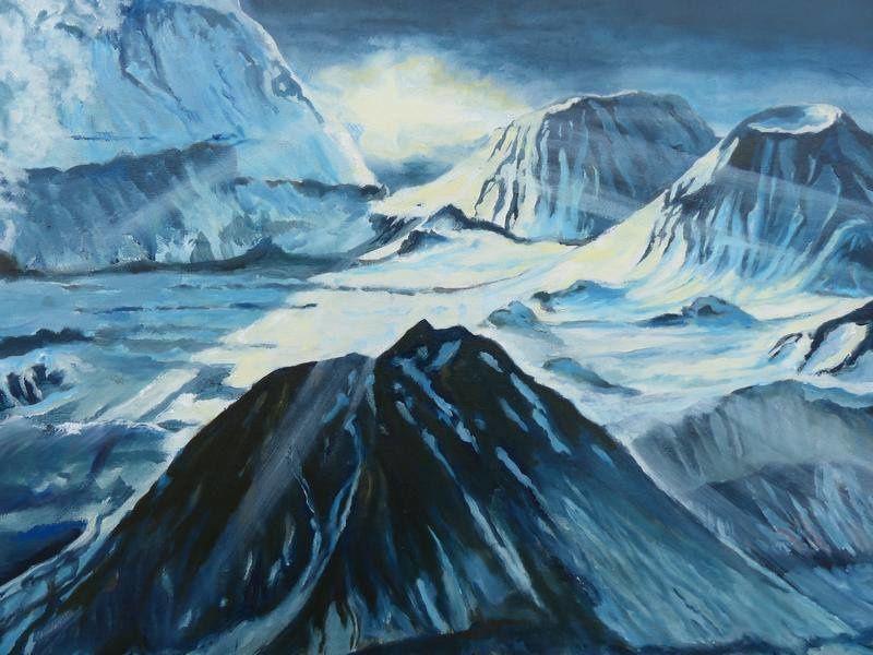 """"""" Choc des titans en Islande """" par Jocelyn Lardy - détails de la lumière sur les glaces islandaises.- photos © Jocelyn Lardy"""