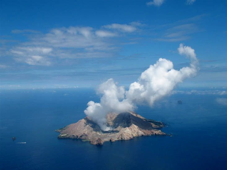 White Island / NZ - photo GeoNet