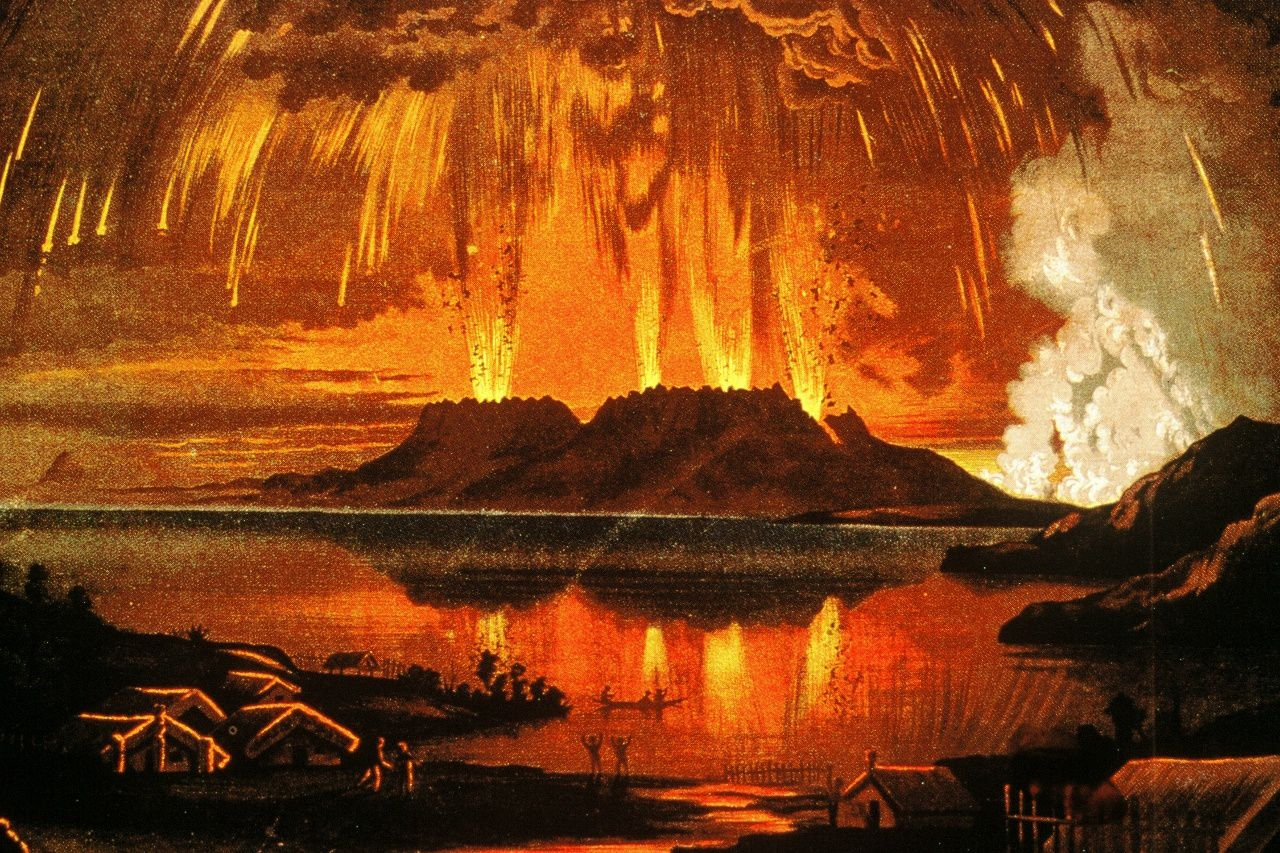 The eruption of Tarawera June 10, 1886 - doc.Waimangu.co.nz