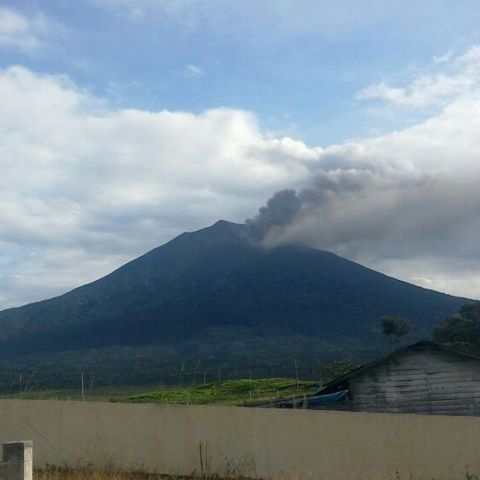 Kerinci - 03.06.2016 - photo PGA Kerinci local volcano observatory
